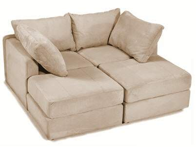 Couch lovesac flatiron crossing for Furniture for media room
