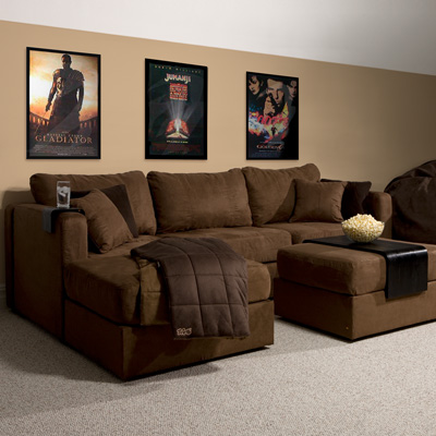 All about real life lovesac flatiron crossing for Furniture for media room