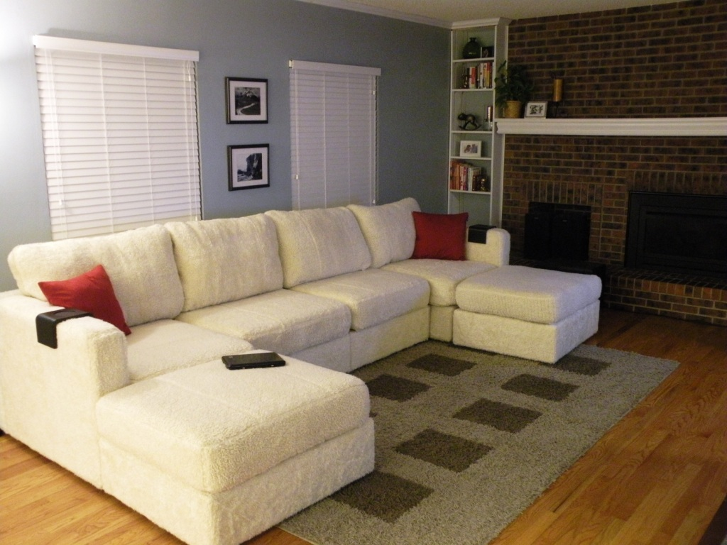 Sectional Sofa With Double Chaise